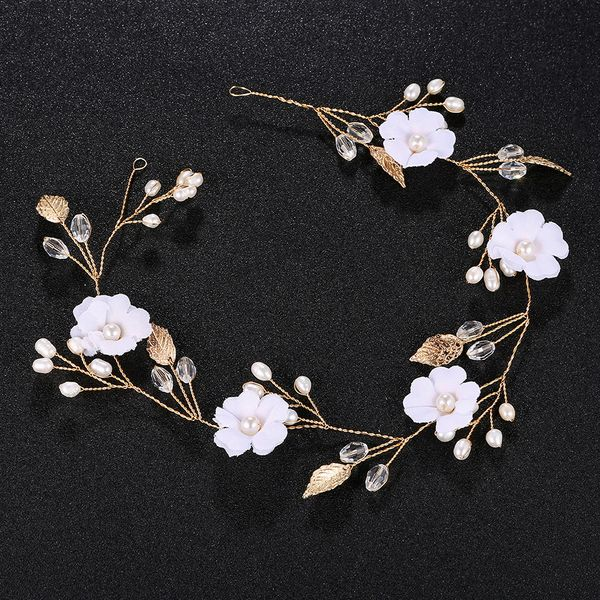 Alloy Fashion Flowers Hair accessories  (Alloy) NHHS0100-Alloy