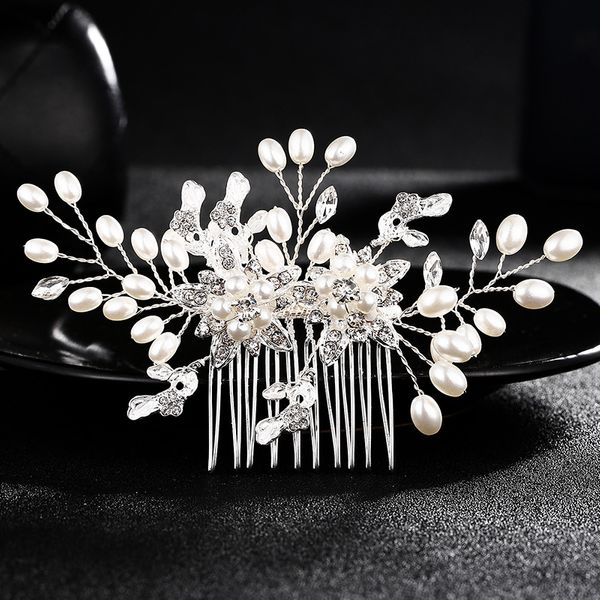 Alloy Fashion Geometric Hair accessories  (white) NHHS0101-white