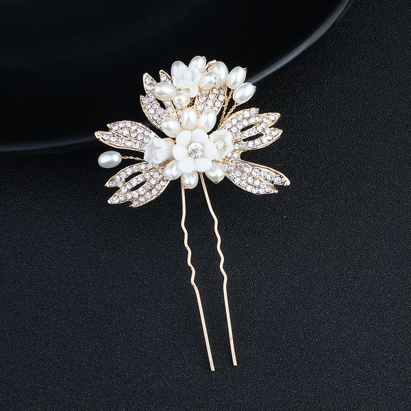 Alloy Fashion Flowers Hair accessories  (Alloy) NHHS0103-Alloy