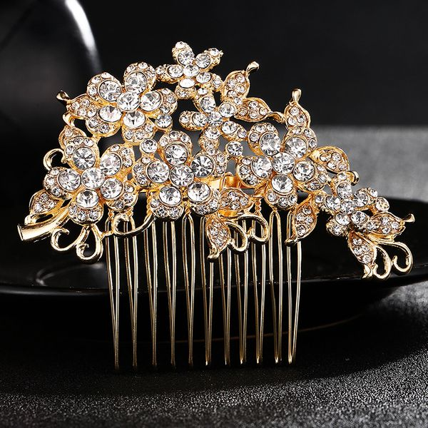 Alloy Fashion Flowers Hair accessories  (Alloy) NHHS0111-Alloy