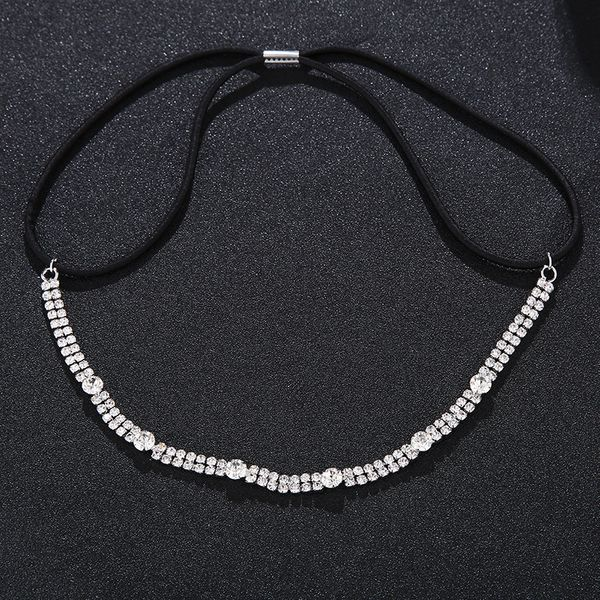 Imitated crystal&CZ Fashion  Hair accessories  (Alloy) NHHS0134-Alloy