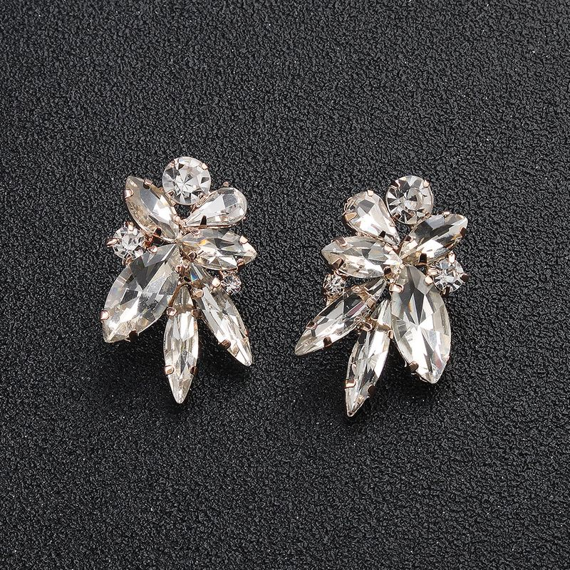 Alloy Fashion Flowers earring  (Alloy) NHHS0136-Alloy