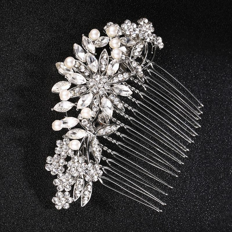 Alloy Fashion Flowers Hair accessories  (Alloy) NHHS0146-Alloy