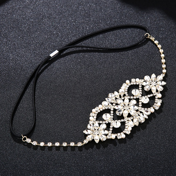 Alloy Fashion Flowers Hair accessories  (Alloy) NHHS0156-Alloy