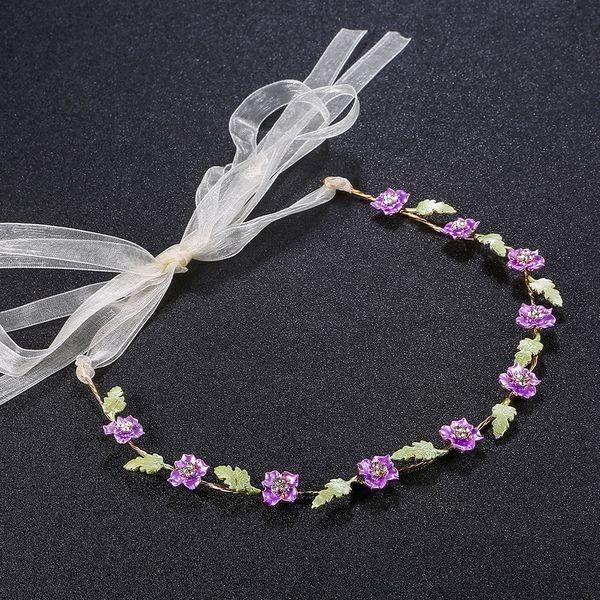 Alloy Fashion Geometric Hair accessories  (purple) NHHS0163-purple