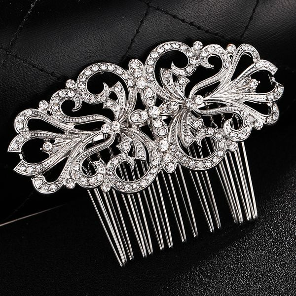 Alloy Fashion Flowers Hair accessories  (Alloy) NHHS0170-Alloy