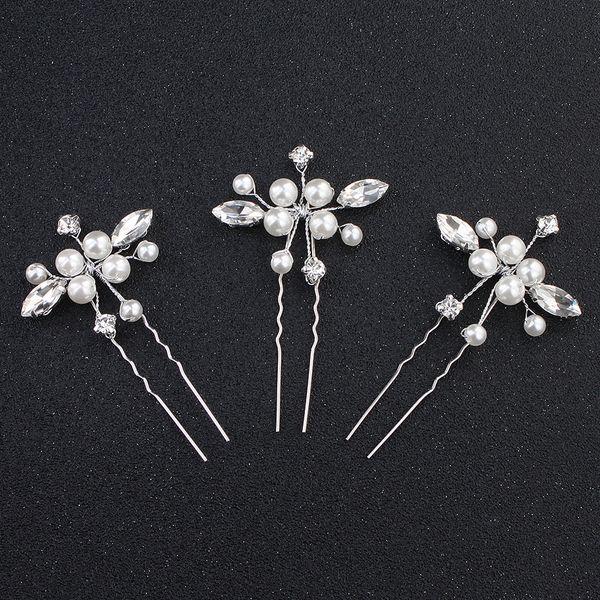 Beads Fashion  Hair accessories  (white) NHHS0179-white