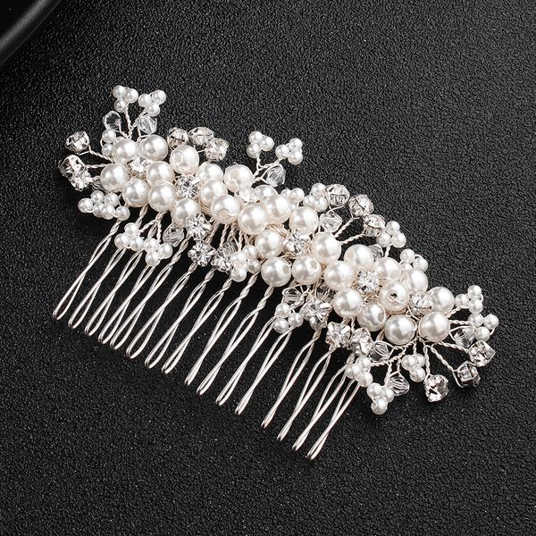 Alloy Fashion Geometric Hair accessories  (white) NHHS0186-white