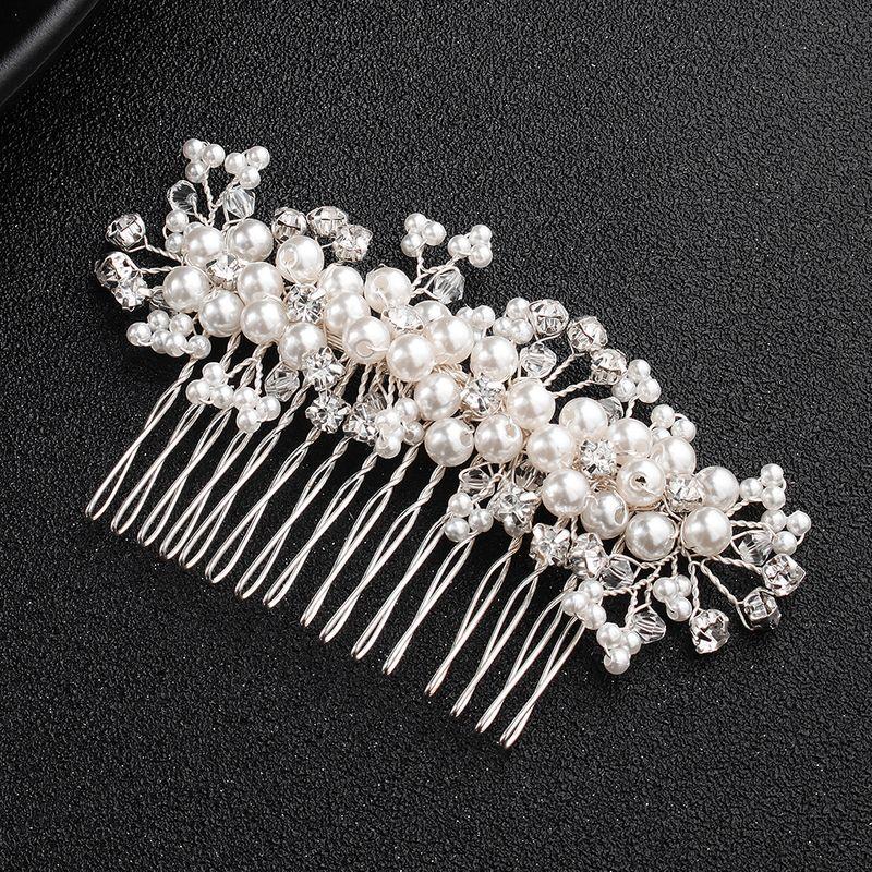 Alloy Fashion Geometric Hair accessories  white NHHS0186white