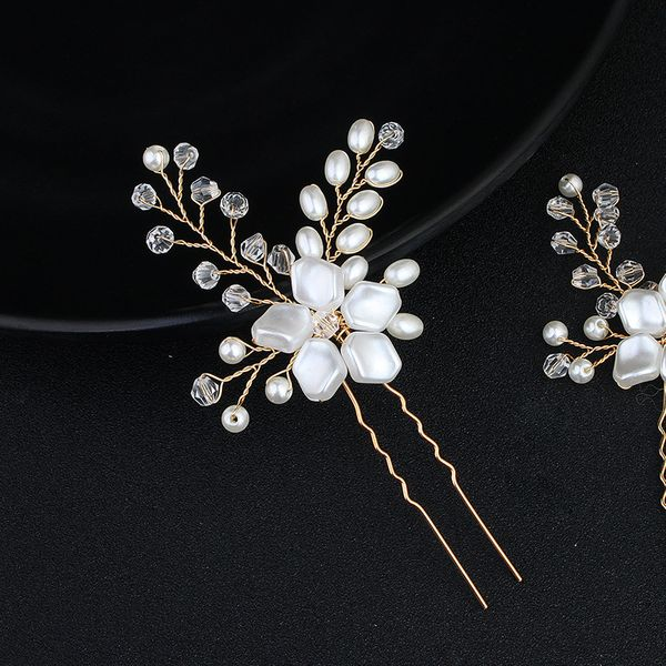 Alloy Fashion Flowers Hair accessories  (Alloy) NHHS0202-Alloy