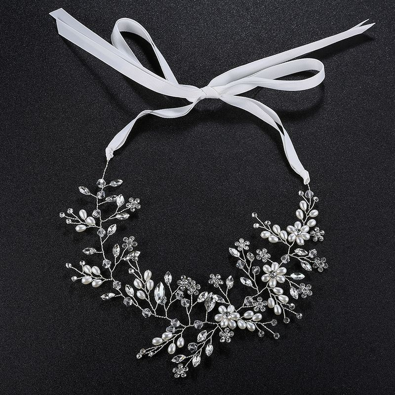 Beads Fashion Flowers Hair accessories  Alloy NHHS0214Alloy