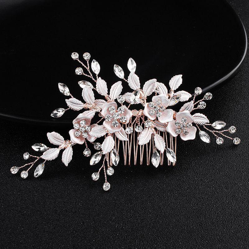 Alloy Fashion Flowers Hair accessories  (HS-J4793) NHHS0218-HS-J4793