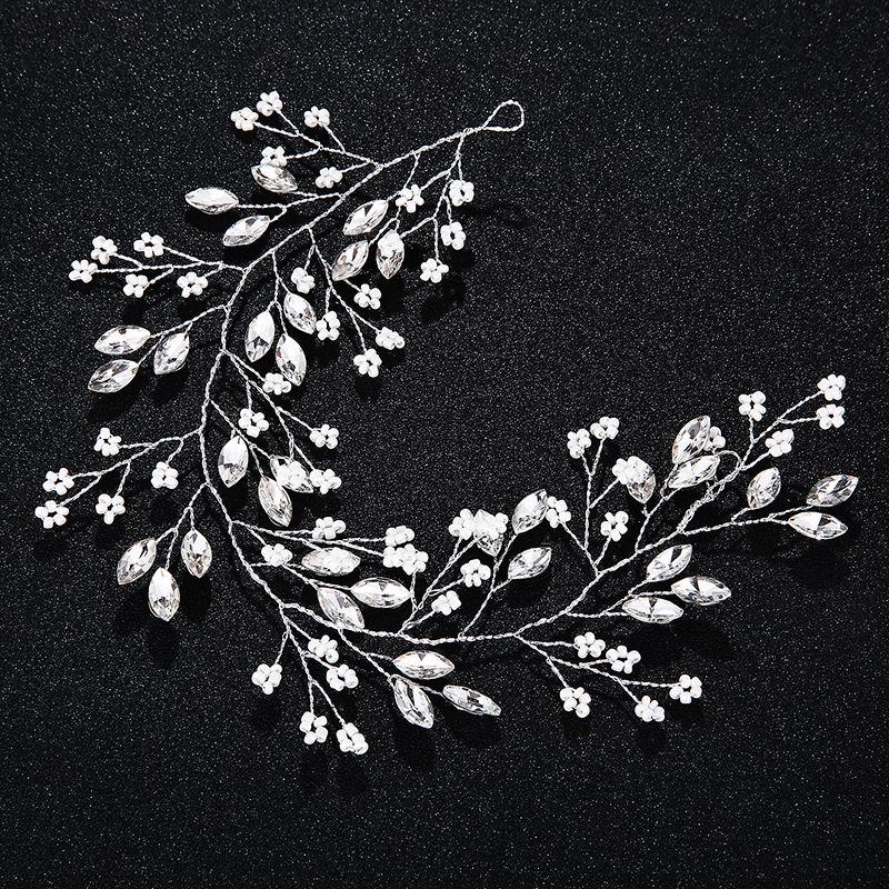 Alloy Fashion Geometric Hair accessories  white NHHS0231white