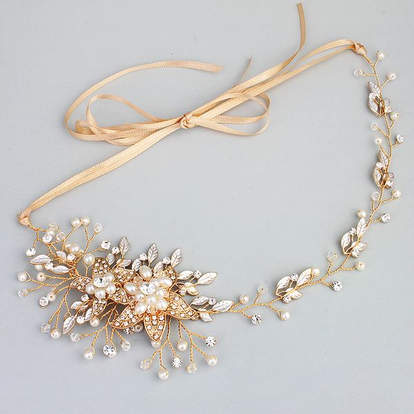 Alloy Fashion Flowers Hair accessories  (Alloy) NHHS0244-Alloy