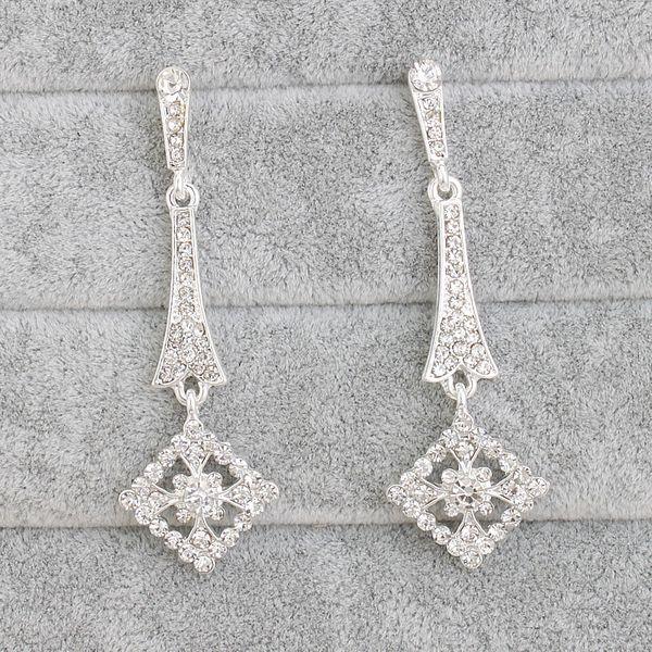 Alloy Fashion Geometric earring  (white) NHHS0250-white