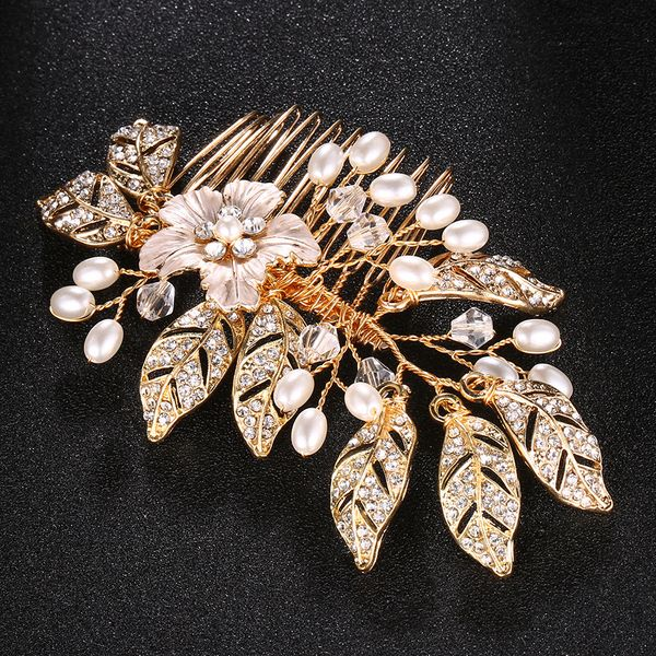 Alloy Fashion Flowers Hair accessories  (Alloy) NHHS0274-Alloy