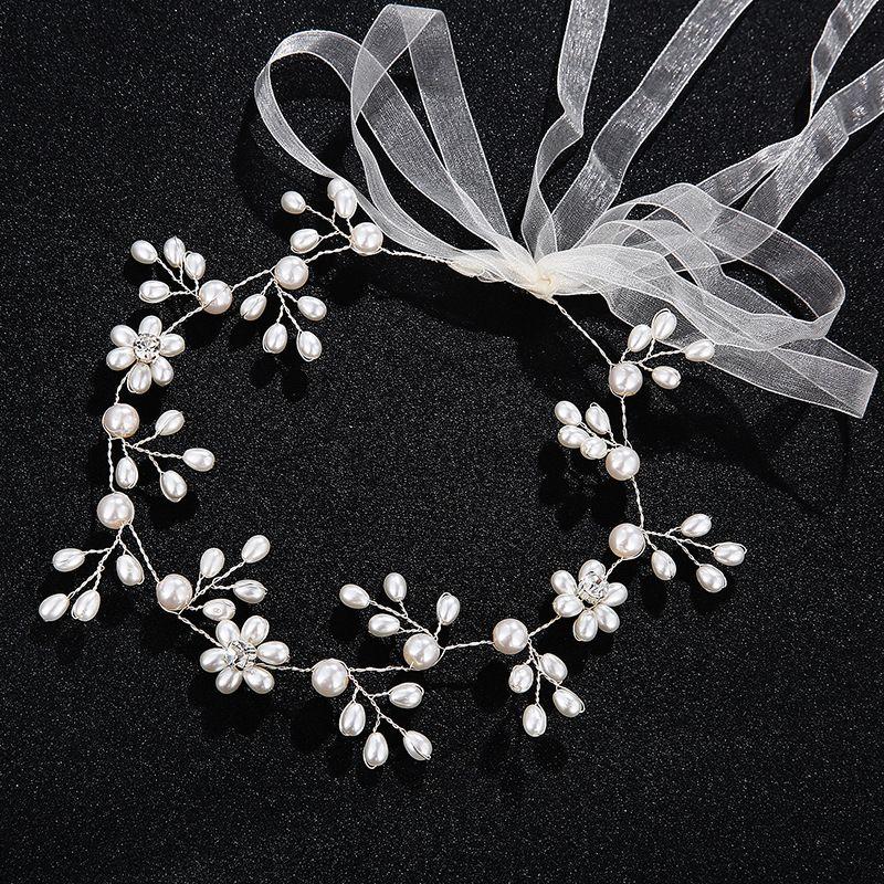 Alloy Fashion Geometric Hair accessories  (white) NHHS0275-white