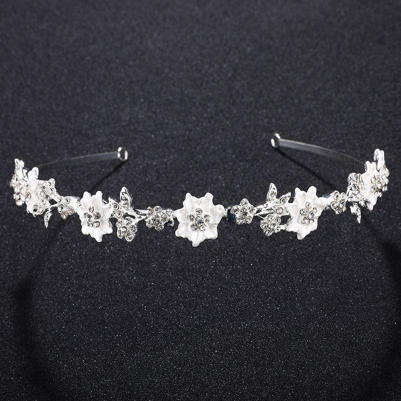 Alloy Fashion Geometric Hair accessories  white NHHS0280white