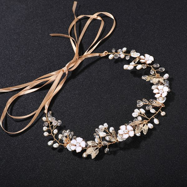 Alloy Fashion Flowers Hair accessories  (Alloy) NHHS0283-Alloy