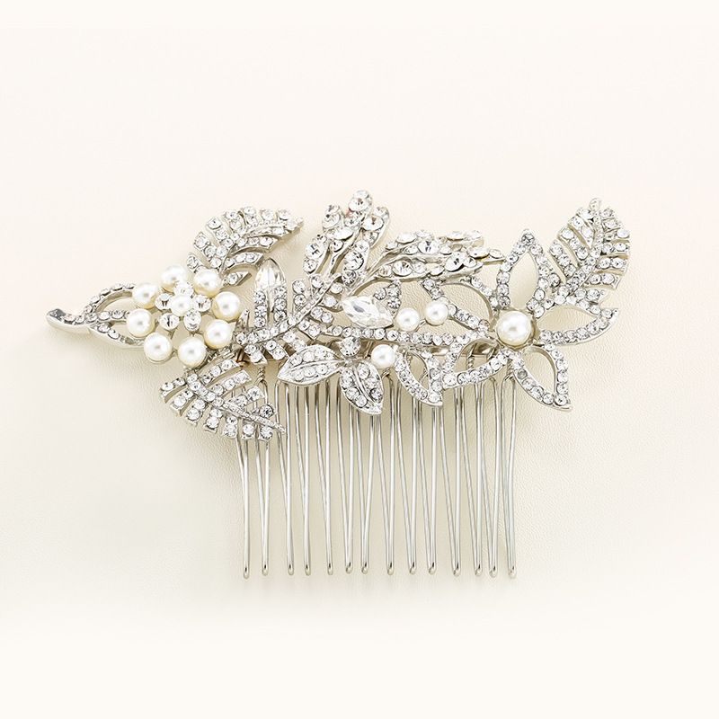 Alloy Fashion Geometric Hair accessories  white NHHS0299white