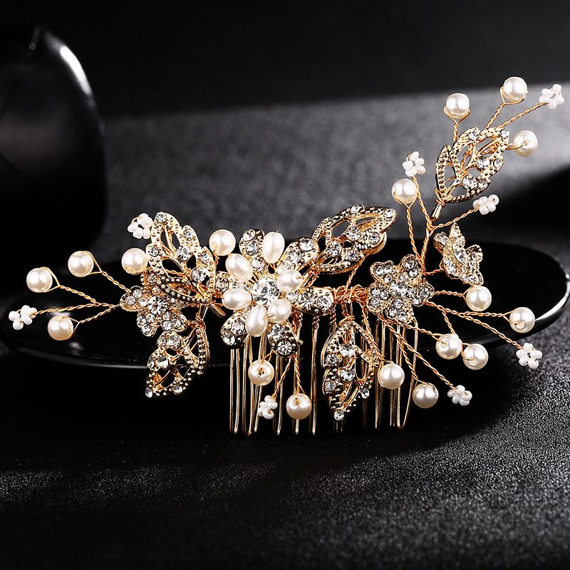 Alloy Fashion Geometric Hair accessories  (Alloy) NHHS0304-Alloy