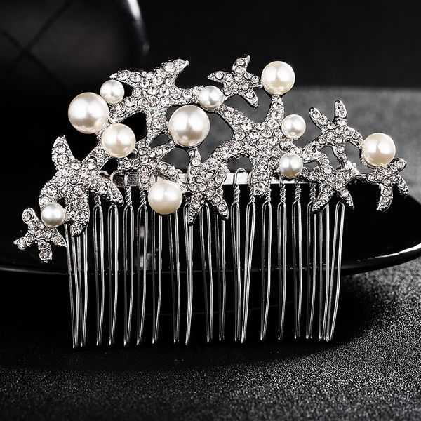 Alloy Fashion Geometric Hair accessories  (white) NHHS0306-white