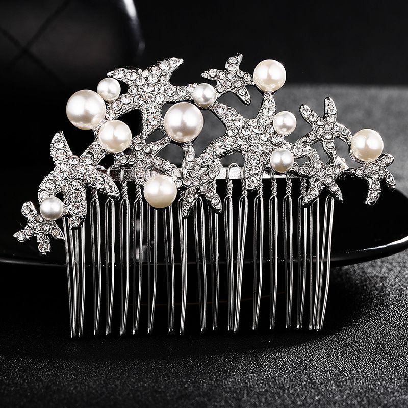 Alloy Fashion Geometric Hair accessories  (white) NHHS0306-white