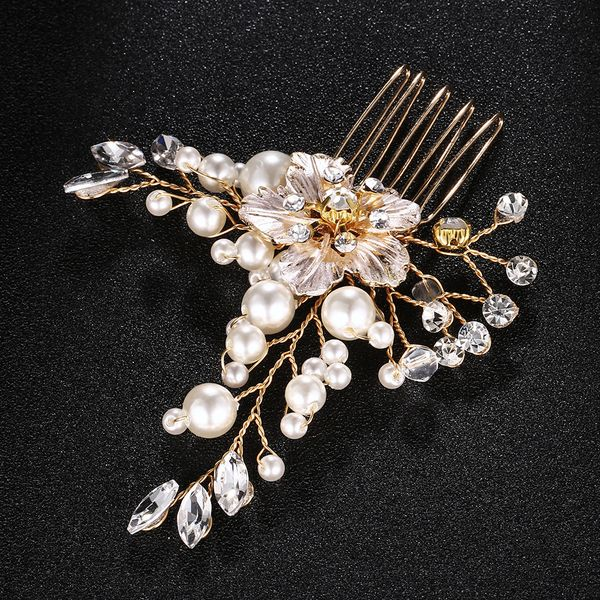 Alloy Fashion Flowers Hair accessories  (Alloy) NHHS0319-Alloy