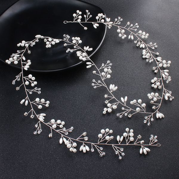 Plastic Simple Geometric Hair accessories  (white) NHHS0323-white