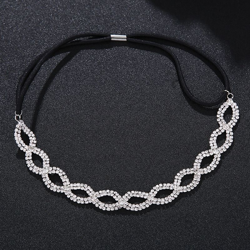 Alloy Fashion Geometric Hair accessories  white NHHS0332white