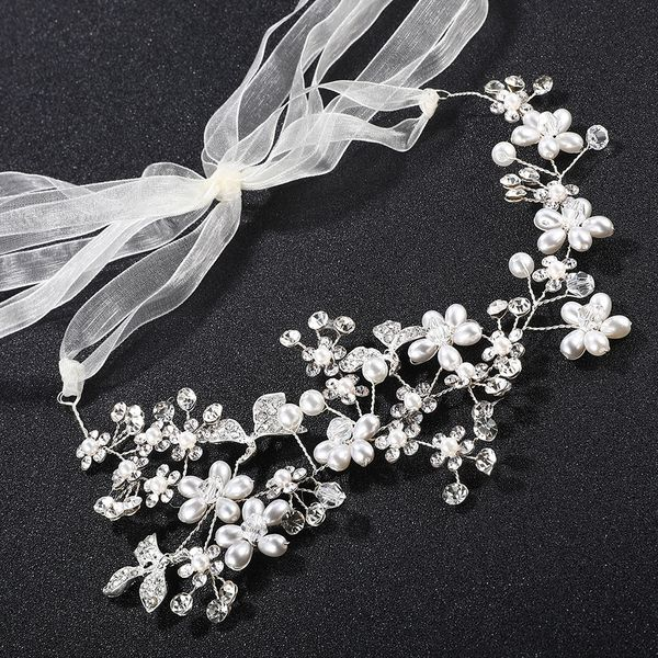 Alloy Fashion Geometric Hair accessories  (white) NHHS0356-white
