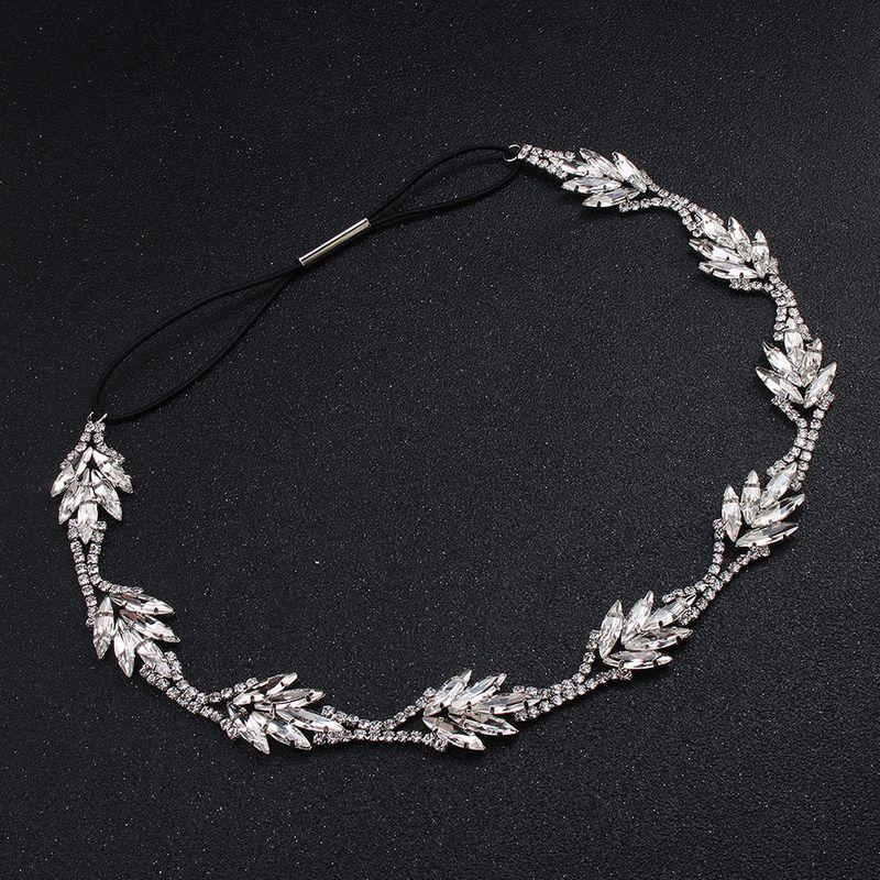 Alloy Fashion Geometric Hair accessories  white NHHS0359white