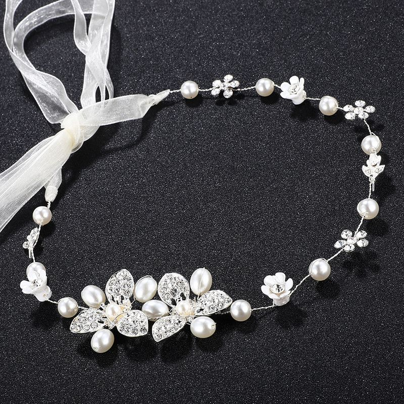Alloy Fashion Geometric Hair accessories  (white) NHHS0360-white