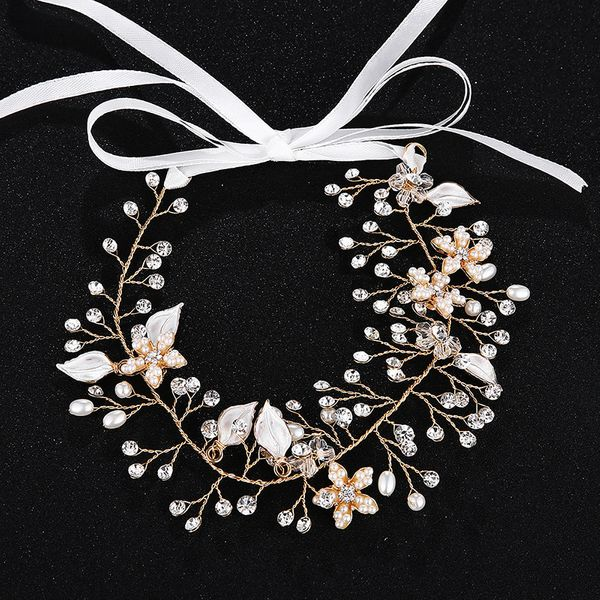 Alloy Fashion Flowers Hair accessories  (Alloy) NHHS0370-Alloy