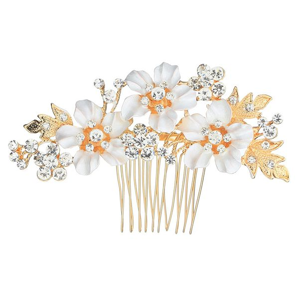 Alloy Fashion Flowers Hair accessories  (Alloy) NHHS0372-Alloy