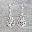 Alloy Fashion Geometric earring  white NHHS0008white