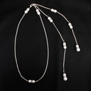 Beads Simple Geometric necklace  Alloy NHHS0010Alloy