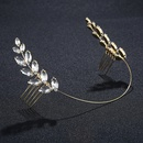 Imitated crystalCZ Simple Geometric Hair accessories  Alloy NHHS0044Alloy