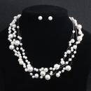 Alloy Fashion  necklace  white NHHS0093white