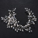 Imitated crystalCZ Fashion Geometric Hair accessories  Alloy NHHS0119Alloy
