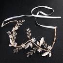 Beads Fashion Flowers Hair accessories  Rhinestone 4645 NHHS0128Rhinestone 4645