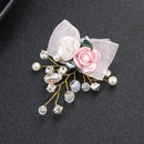 Imitated crystalCZ Fashion Flowers Hair accessories  Alloy NHHS0158Alloy