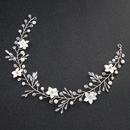 Imitated crystalCZ Fashion Flowers Hair accessories  Alloy NHHS0192Alloy