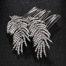 Imitated crystalCZ Fashion Geometric Hair accessories  Alloy NHHS0197Alloy