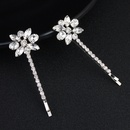 Alloy Fashion Flowers Hair accessories  white NHHS0269white