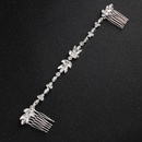 Imitated crystalCZ Fashion Sweetheart Hair accessories  Alloy NHHS0297Alloy