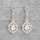 Alloy Fashion Geometric earring  white NHHS0348white