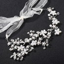 Alloy Fashion Geometric Hair accessories  white NHHS0356white