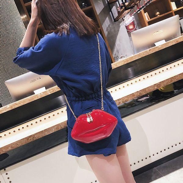 PU Korea  Shoulder bag  (red) NHPB3494-red