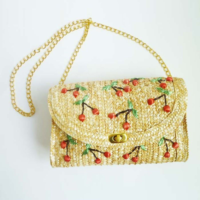Alloy Fashion  Shoulder Bags  (cream color) NHXW0518-cream-color